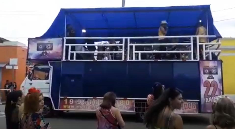 Trio Elétrico Vencedor no Carnaval 2019