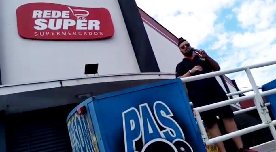 Trio Elétrico Princesa na Rede Super Supermercados